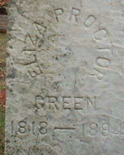 Eliza <i>Proctor</i> Green