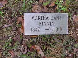 Martha Jane <i>Johnson</i> Kinney