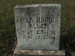 Lola <i>Harris</i> Allen