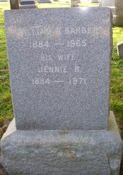 Jennie R <i>Daggett</i> Barber