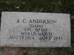 A C Anderson