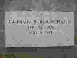 LaFaun B Blanchard