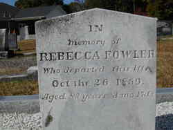 Rebecca <i>Carlton</i> Fowler