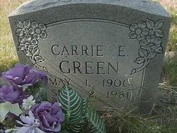 Carrie E Green