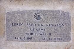 Leroy Fred Darrington
