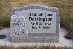 Hannah June Darrington