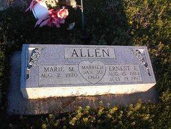 Marie M Allen