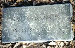 Maie <i>Woolard</i> Barrow