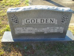 Clara E. <i>Adkins</i> Golden