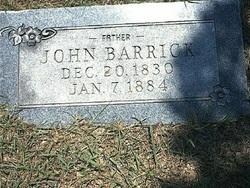 John Barrick