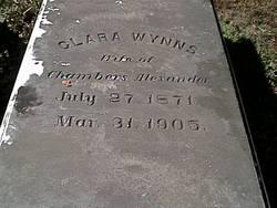Clara Rebecca <i>Wynns</i> Alexander