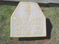 Maudie Omega <i>Cook</i> Baker