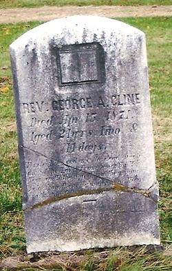 Rev George A Cline