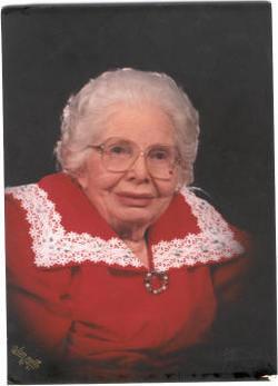 Margaret Mabel <i>Dillinger</i> Bowden