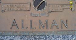 Ella Betty Allman