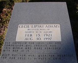 Cecil <i>Lipski</i> Adams