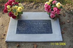 Violet Magdalene <i>Meese</i> Geary