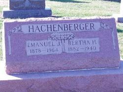 Bertha H. <i>Ammann</i> Hachenberger