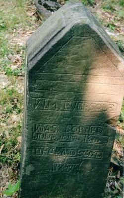 William Billie Eversole