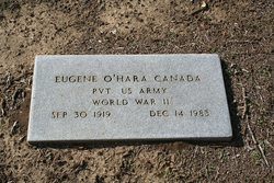 Pvt Eugene O'hara Canada