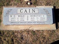 W. D. Boad Cain