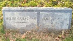 Hubert G Wilson