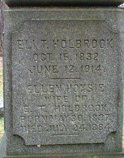 Ellen <i>Hoxsie</i> Holbrook