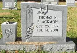 Thomas N Blackmon