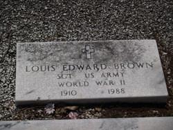 Sgt Louie Edward Brown