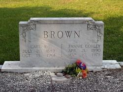 Fannie Pauline <i>Corley</i> Brown