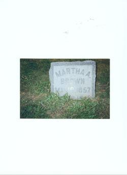 Martha A. Brown