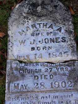 Martha A. <i>Jordan</i> Jones