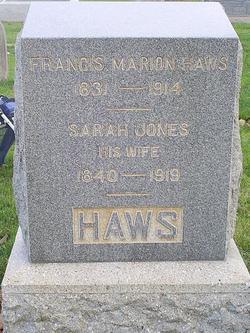 Francis Marion Haws