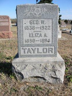 Pvt George Washington Taylor