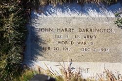 John Harry Darrington