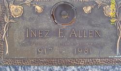 Inez E.. Allen