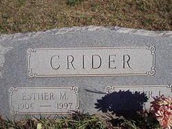 Walter L Crider