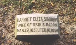 Harriet Eliza <i>Simonds</i> Bacon