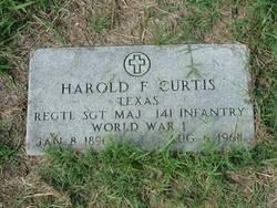Harold Francis Curtis, Sr