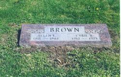 Helen L. <i>McConcha</i> Brown