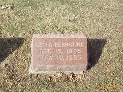 Letha Bernstine