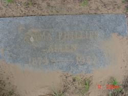 Emma Jack <i>Phillips</i> Allen