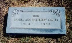 Bertha Ann Bob <i>McCleskey</i> Carter