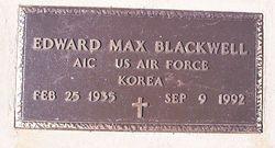 Edward Max Blackwell