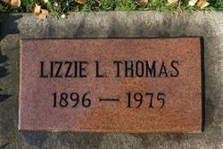 Lizzie L. <i>Hunsinger</i> Thomas
