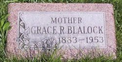 Grace R <i>Ruggles</i> Blalock