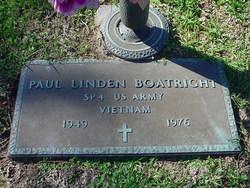 Spec Paul Linden Boatright