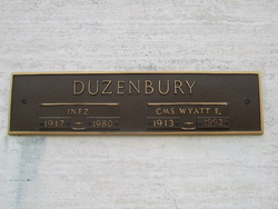 Wyatt E Duzenbury