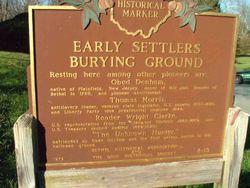 Early Settlers Burying Ground