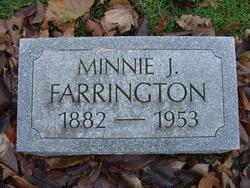 Minnie Jane <i>Flynn</i> Farrington